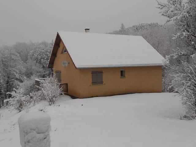 Saint-Eusèbe-en-Champsaur : maison avec vue
