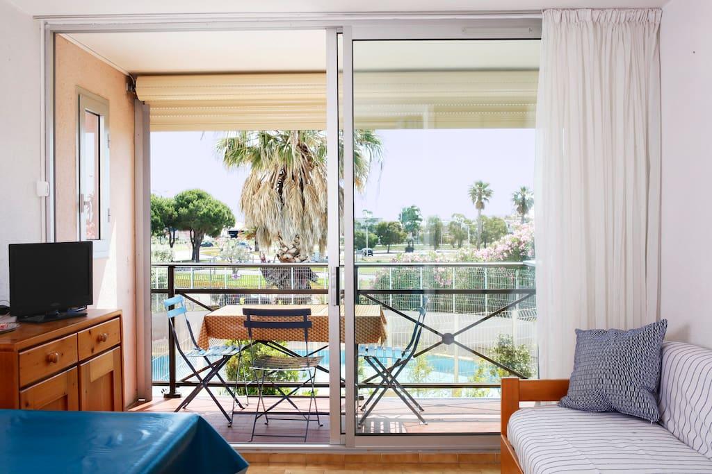 Appartement pr s de la plage avec piscine appartements - Hotel le grau du roi avec piscine ...
