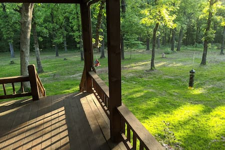 Private 40 acre woods near marina w/ stocked pond!