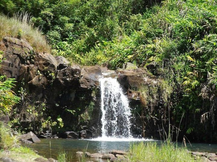 Heavenly Enchanting Waterfall in Hilo