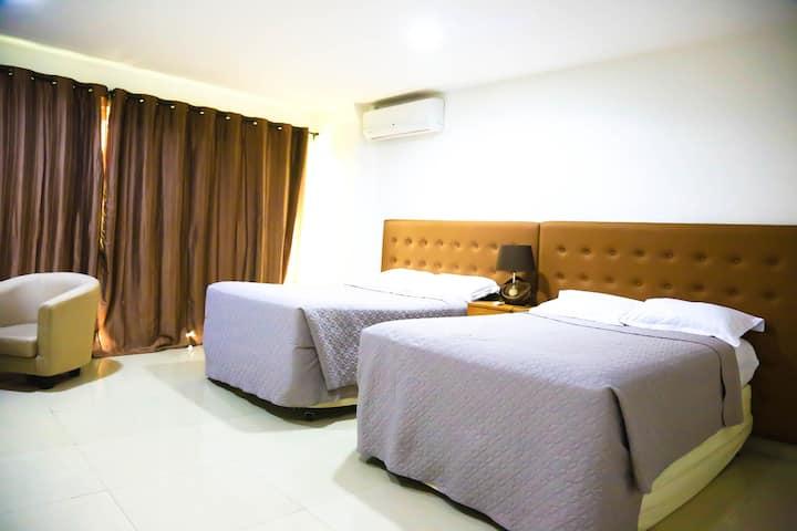 Loft moderne, luxueux et spacieux (2 chambres)