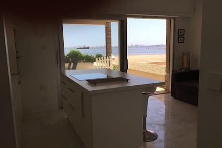 Apartamento minimalista a pie de playa