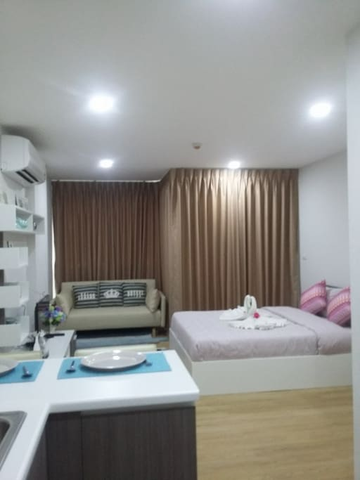 Ozone Condotel is situated in convenient area of  Karon beach.