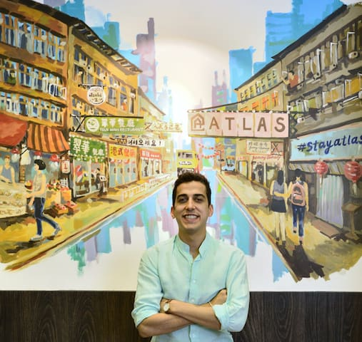 If you need any recommendations about restaurants, bars, shopping centers or cultural activities, owner Suraj is more than happy to oblige!