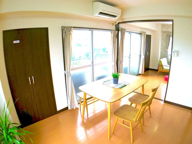 N2.Great view!Spacious room!Top floor@Nakameguro. - Meguro-ku - Huoneisto
