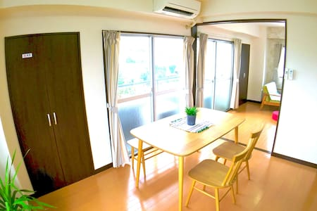 N2.Great view!Spacious room!Top floor@Nakameguro. - Meguro-ku