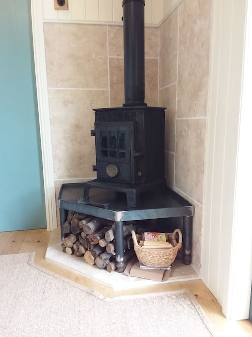 Wood Burner - with all the wood you can eat :)