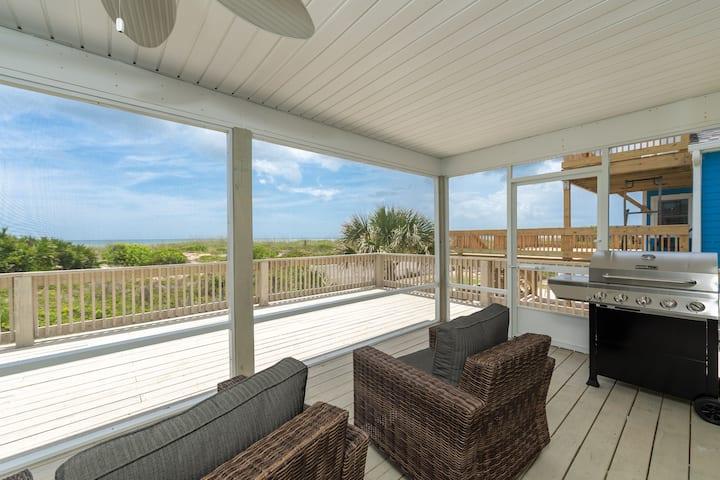 St Augustine Ocean Front Home-Sleeps 10!