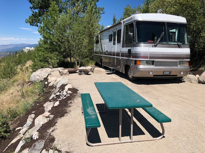 Glamping MoHo RV at The Lost Moose