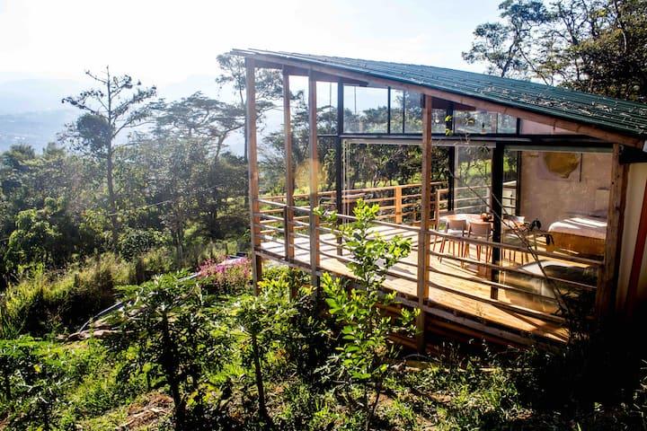 Diseño y naturaleza en granja cerca a Bogotá