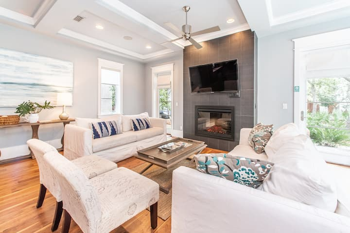 Luxury in Rosemary Beach⭐Inspected & Disinfected⭐4BR The Atticus