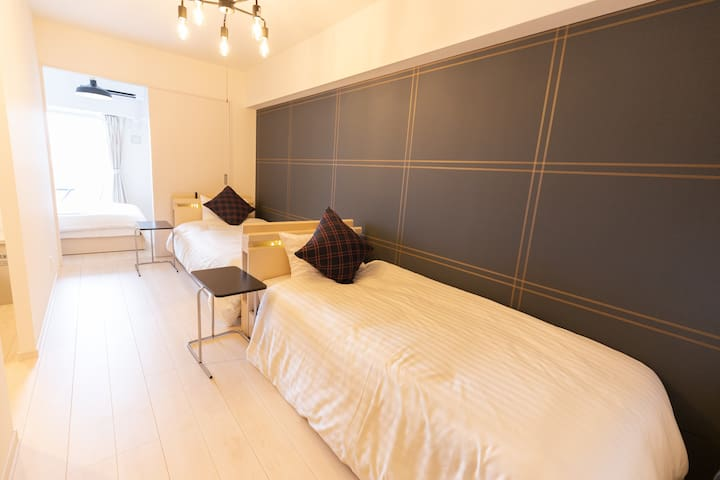 【New!】 Central of Hakata1☆modern&clean Room!