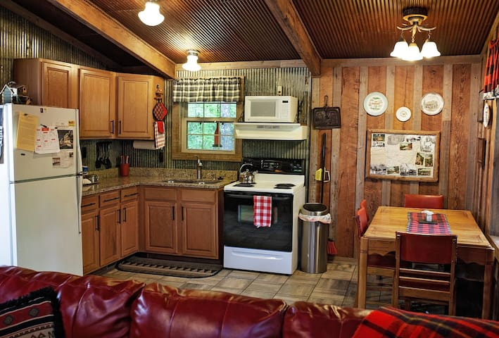 Kitchen, fully equipped. Including all the fixin's for coffee and tea.
