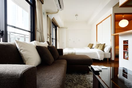 The popular area in Osaka! 58㎡ spacious room、WiFi - Chūō-ku, Ōsaka-shi