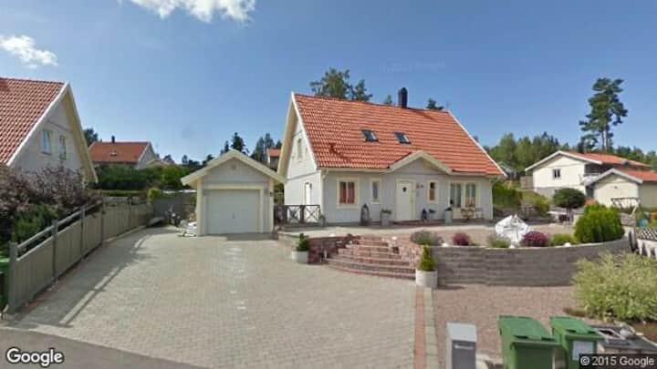 Fint hus med pool, spa och gästhus