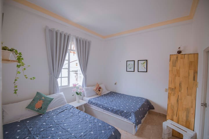 Mint Garden Homestay - Twin Room with Garden View