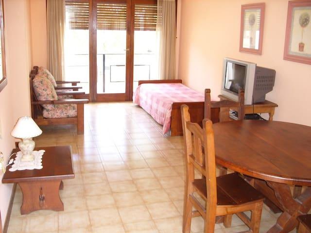 Departamento 2 amb Pinamar centro, balcon Av Bunge