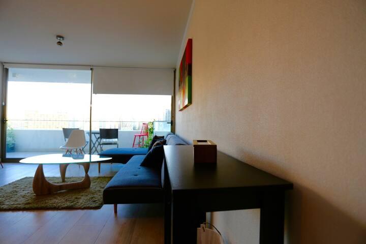 Parque Arauco Park 1105 Parking WiFi Free, SCL - Las Condes - Appartamento