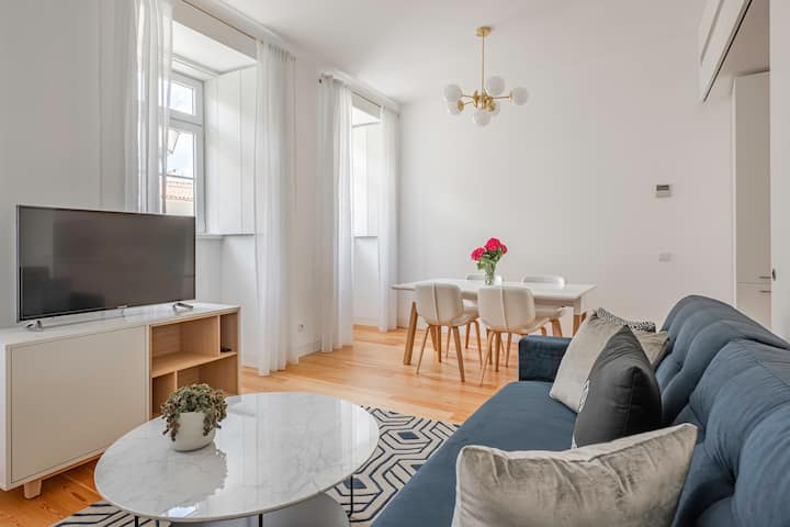 An ideal family apartment: 2 adults + 2 children