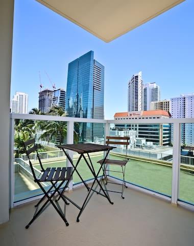 Amazing Brickell Studio-OneBroadway #1010 (Studio) - Miami - Wohnung