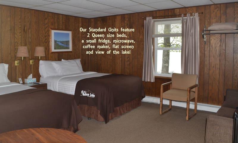 Standard Room at AJ's Walleye Lodge