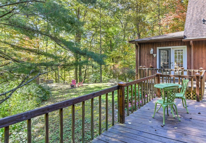 Hendersonville~Nature's Lover Getaway~Fire Pit
