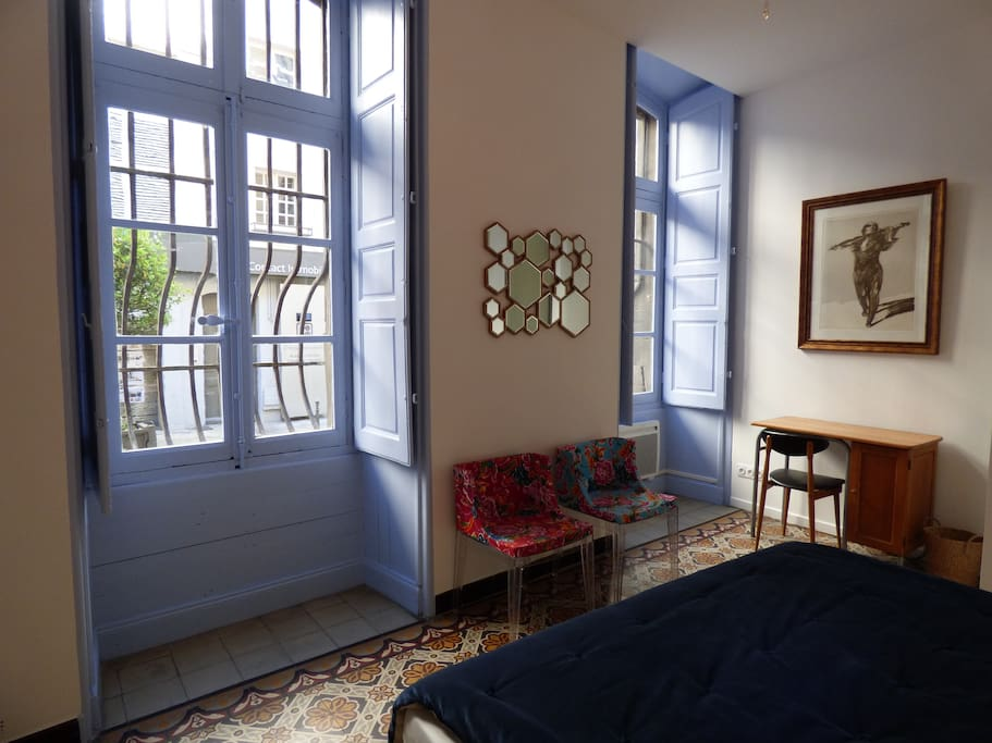 appartement vintage en plein coeur d 39 avignon lofts. Black Bedroom Furniture Sets. Home Design Ideas