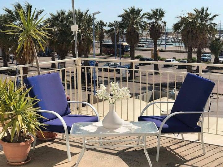 """Casa vacanze sul Mare """"Marco Polo"""" San Leone. AG"""