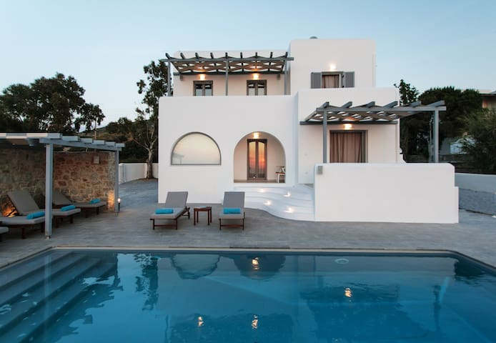 Naxos Infinity Private Villa FULLY Renovated 2019