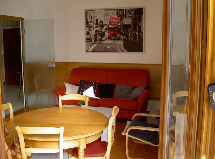 Agréable appartement T3 centre du village