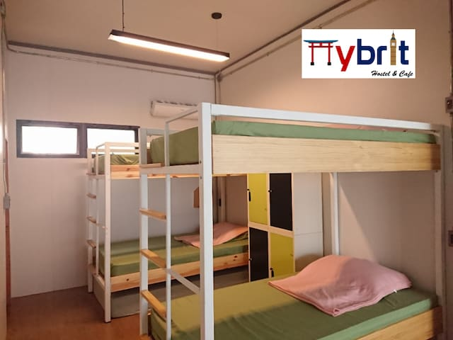 Hybrit hostle&cafe - Female dorm 4-beds