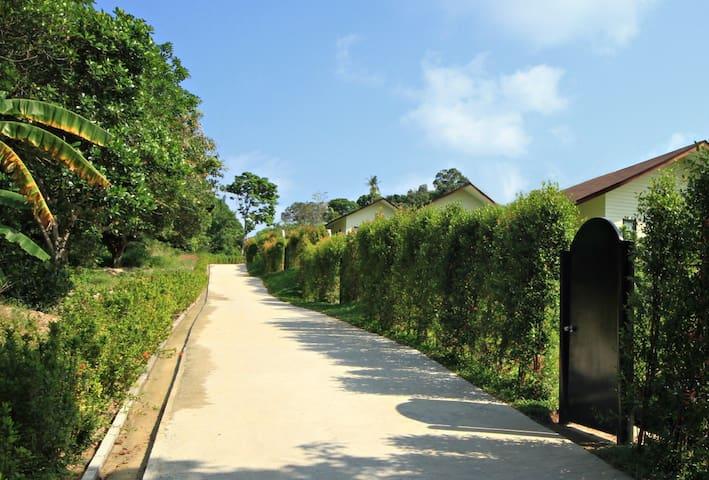Villa avec jacuzzi et jardin privés - เกาะสมุย - วิลล่า