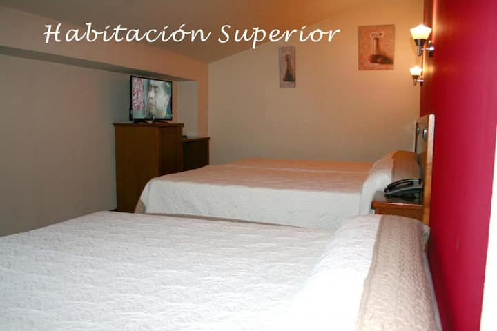HOTEL CANGAS CANGAS DE ONIS CENTER - Doble Superior con Supletoria - Tarifa estandar