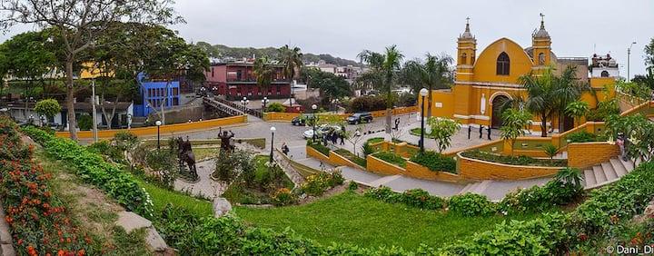 Habitación Privada y Amoblada 2 - Barranco, Lima.