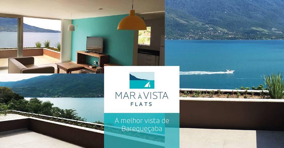 FLAT 03 STANDART 2 SUÍTES 100 m2 - São Sebastião - Byt se službami (podobně jako v hotelu)