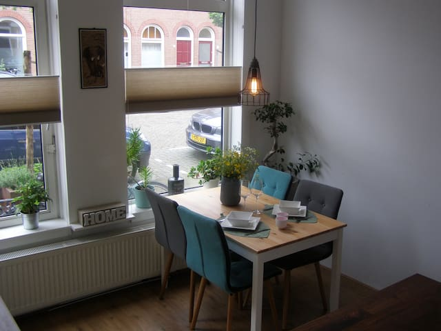 → GREAT APT. WITH SUNNY GARDEN, IN CITY CENTER  - Utrecht - Appartement