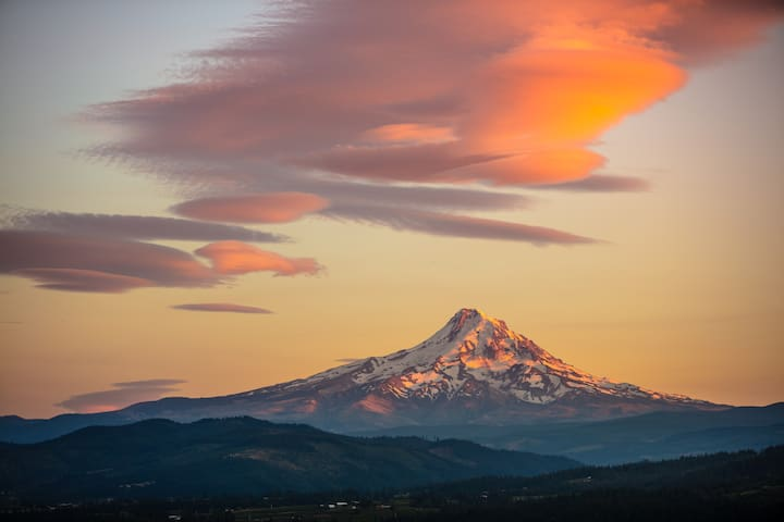 Image by Paloma Ayala, used with permission: Mount Hood, OR