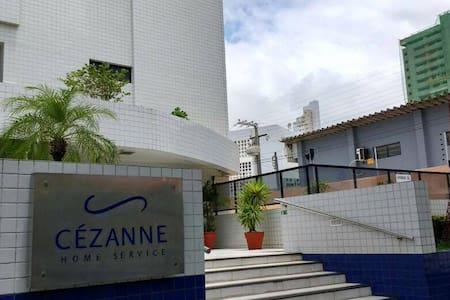 Cezanne Home Flat - 1 quarto - João Pessoa