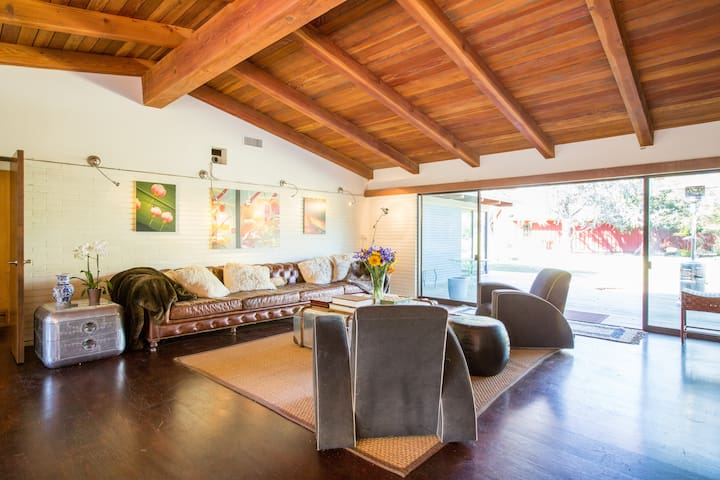 Mid-Century Musician's Ranch House