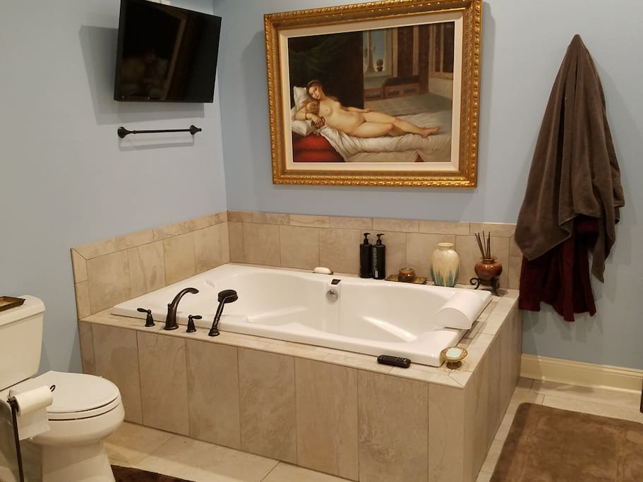 Over-sized bath tub