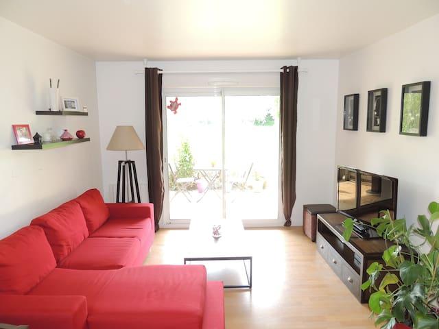 Beau T2 meublé Saint Brieuc - Saint-Brieuc - Apartament