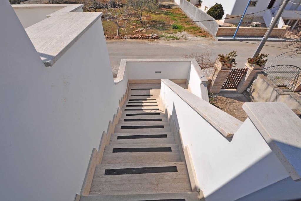 scale per l'appartamento