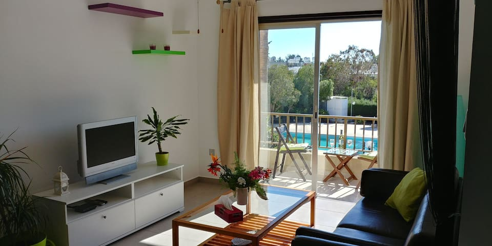 Apartment with pool 5 minutes from beach Paphos