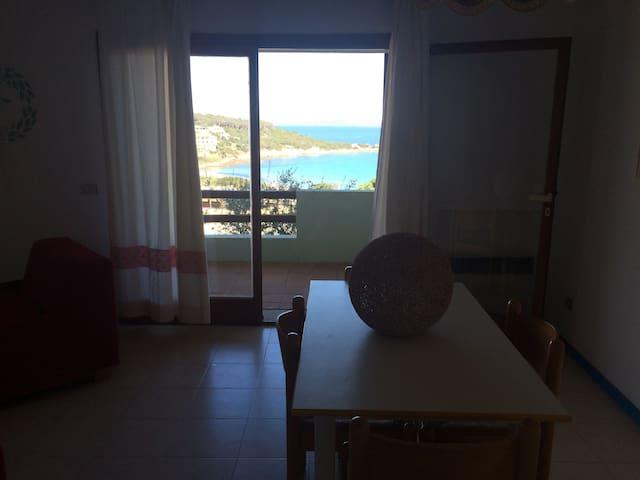 Baja Sardinia - Terrazzo con vista panoramica - Baja Sardinia - Wohnung