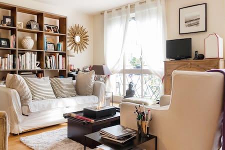 Appartement 80 m2, cosy & chic - Meudon - Apartemen