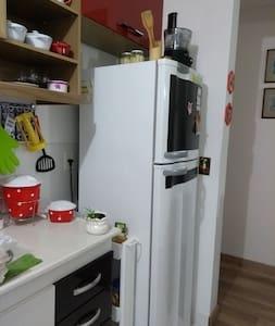 Apartamento simples e acolhedor
