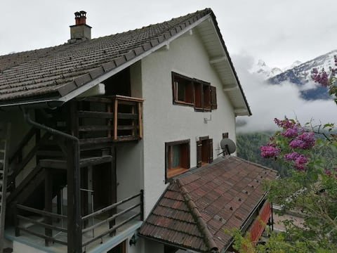 Appartement au centre du village de Gryon.