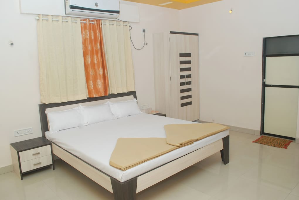 This kind of room we offer.Very homely environment.