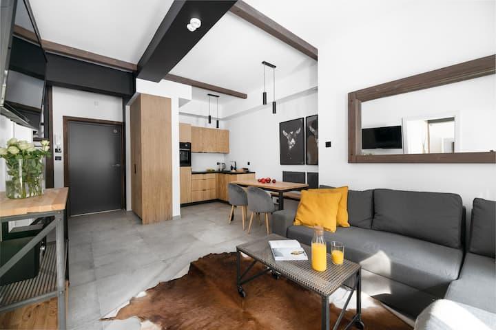 Aparthotel Narciarska2-Apartament 6-os 2 sypialnie
