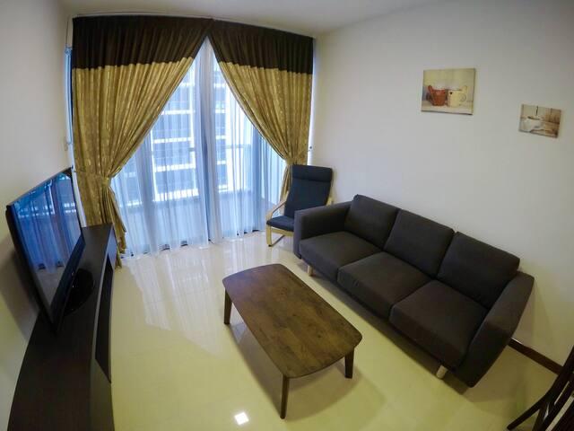 两房式公寓(七人) 近加雅街 曙光商场 码头 2BR Suite(7pax) 2.0